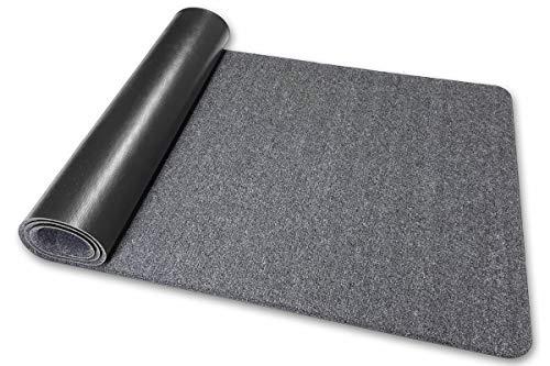 Deko-Matten-Shop Fußmatte Olefin, Schmutzfangmatte, rechteckig, 40x120 cm, grau, in 16 Größen und 5 Farben
