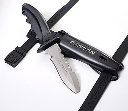 Atomic Aquatics Ti6 Titanium Knife