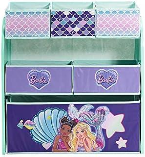 Barbie Mermaid Multi-Bin Toy Organizer, Multi Color