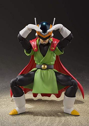 TAMASHII NATIONS Bandai S.H.Figuarts Great Saiyaman Dragon Ball Z Action Figure, Multicolor, One-Size