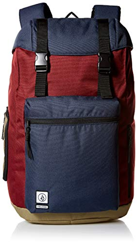 Volcom Herren Men's Ruckfold Laptop Storage Backpack, Cabernet, Einheitsgröße
