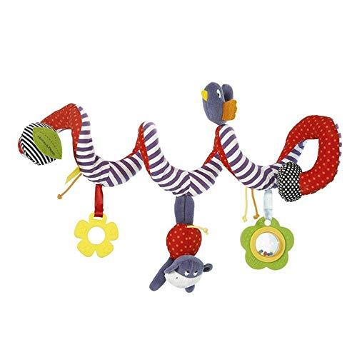 LeftSuper Nuevos Juguetes para bebés, la Cuna del bebé Gira Alrededor del Cochecito para Jugar, Juguete para Cuna, Torno para Colgar, Cochecito de bebé, Accesorios Colgantes