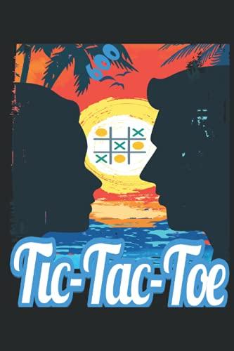 Tic Tac Toe Book divertido juego: Diversión y desafío para jugar a más de 600 juegos mientras viaja Campamento Viaje por carretera Actividad familiar