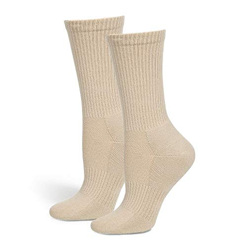 Safersox Mückensocken-Sportsocken Socken - Beige, 39-42