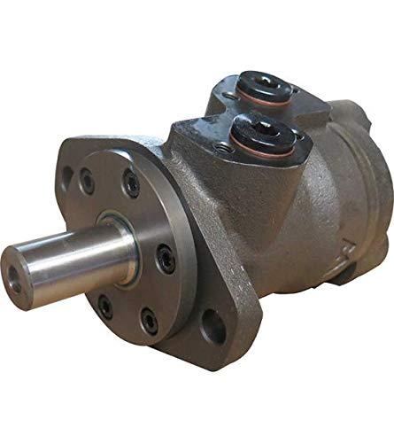 Hydraulikmotor M+S MPE_COD, Schluckvolumen wählbar von 25 cm3/U – 630 cm3/U, Anschlüsse (hinten): G 1/2'', Welle: Ø 1'' zylindrisch Größe 315 ccm