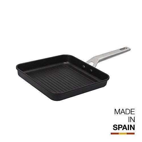 Valira Ind Aire Grill, Aluminio, Negro, 23 cm