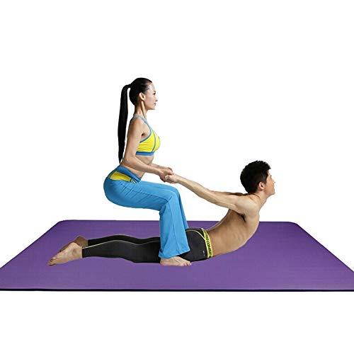 qq666 Ambientale insapore Tappetino Yoga Antiscivolo Spessore allargato allargata Danza Famiglia Tappetino Fitness all'aperto Bambini Campeggio stuoia stuoia strisciant-No_Color-No_siz