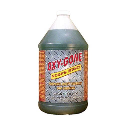 Oxy-Gone Rust Remover and Metal Treatment - just like Ospho - Prepares surfaces for painting-1 gallon (128 oz.)