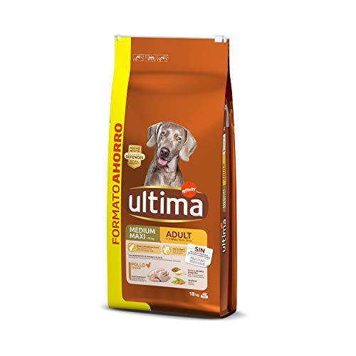 Ultima Cibo per Cani Medium-Maxi Adult con Pollo - 18 kg