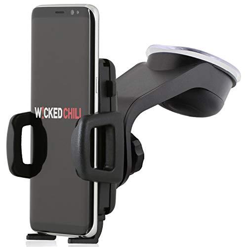 Wicked Chili KFZ Design Mount für Handy und Smartphone (Breite 56-86 mm, Made in Germany, für Bumper & Case)