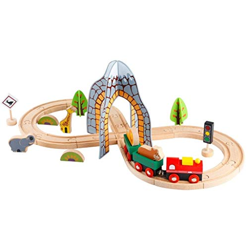 Toy Environmental Roller Coaster Train Track Set Model Toy Boy 4-5 Years Old Children's Educational Toys, Best Gifts