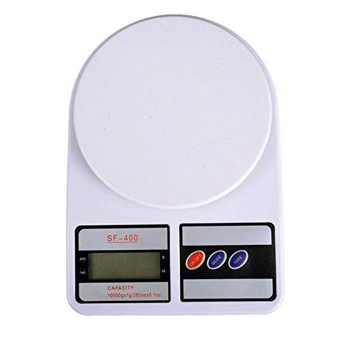 ZXY Balanzas de precisión Balanza de Cocina, Balanza de cocción electrónica de Alimentos con función de Apagado automático de Tara con tecla táctil