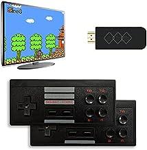 BEZO Retro Game Console,Wireless Controller,AV Output NES Game Console,Built in 900 Classic Games,Mini Portable Host Plug ...