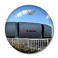 アメリカアメリカグレンデール大学フェニックススタジアム冷蔵庫マグネットホワイトボードマグネットオフィスキッチンデコレーション