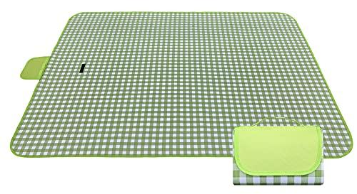Grande coperta da picnic lavabile | Coperte da spiaggia | Pratico...