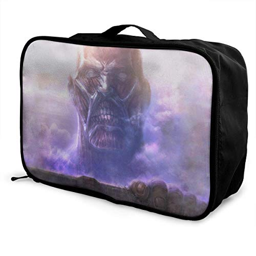 Atta (-On-) Titan Travel Lage Bolsa de viaje ligera maleta portátil Bolsas para mujeres hombres niños impermeable gran capacidad de bapa