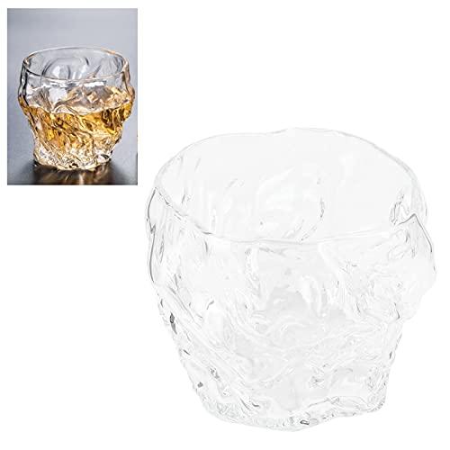 Copas de vino, vidrio transparente robusto Innovador Stemless para barra para fiesta