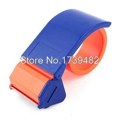 Draagbaar pakket Tool Lijm Tape Dispenser Cutter Oranje Rood Blauw