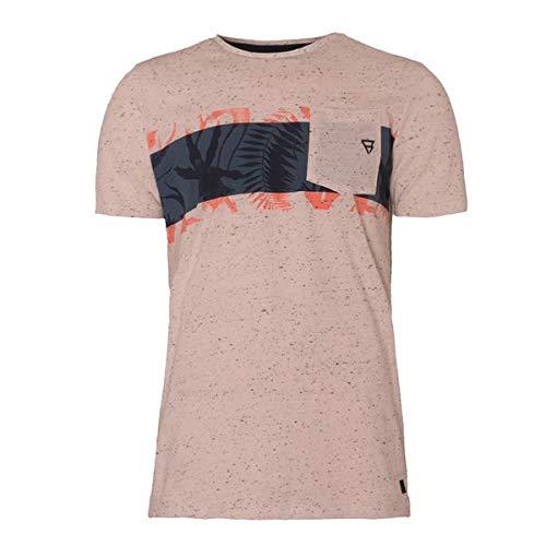 Brunotti Griffith Mens T-Shirt, Größe:XXL, Farbe:14 Cream