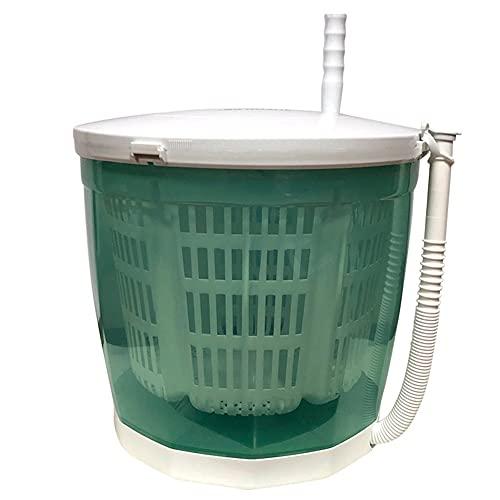 Lavadora manual Lavadora de manos portátil y secadora giratoria Lavadora apilada no...