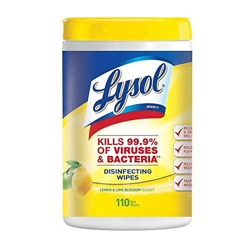 Lysol 110-Count Citrus Sanitizing Wipes (6-Pack)