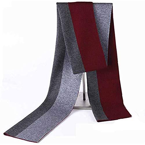 RRQS mannen 100% Australische wol pluche sjaal gebreide zachte mannelijke Koreaanse versie van de Lattice Business Casual warme sjaal