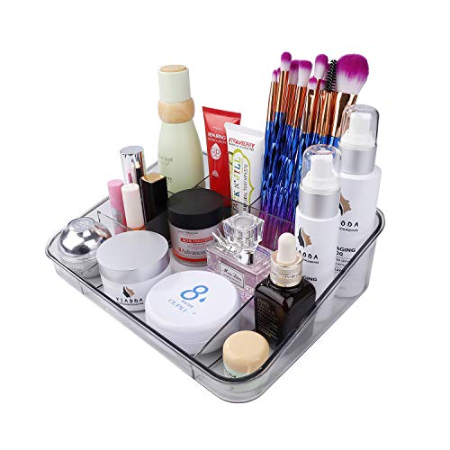 Escritorio Caj/ón De Tipo Caja de Almacenamiento de Cosm/éticos para Joyer/ía Accesorios Organizador de Maquillaje con Gavetas Vitrina sobre Encimera para Ba/ño Tocadores
