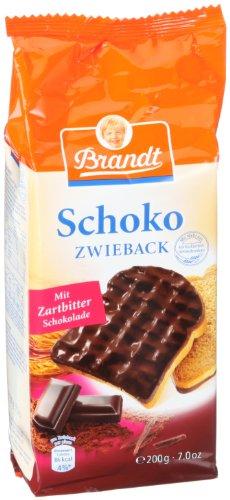 Brandt Schoko-Zwieback, 5er Pack (5 x 200 g Packung)