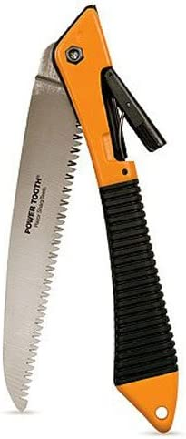 Fiskars 7 Inch PowerTooth Folding Pruning Saw (93516935)