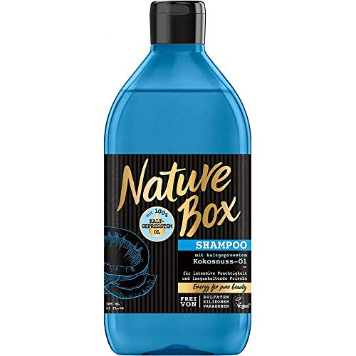 Nature Box Shampoo Kokosnuss-Öl 385ml