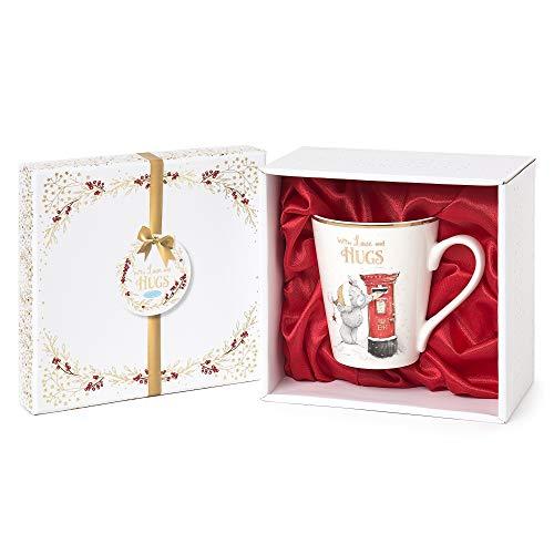 Me to You XGM01005 Signature Collection - Taza de cerámica, diseño navideño