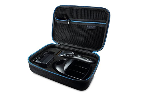 Supremery Funda para Panasonic ER-1611 ER-DGP72 Maquinilla de Cortar el Pelo Profesional Caja Envoltura Protectora Estuche Bolsa de Transporte