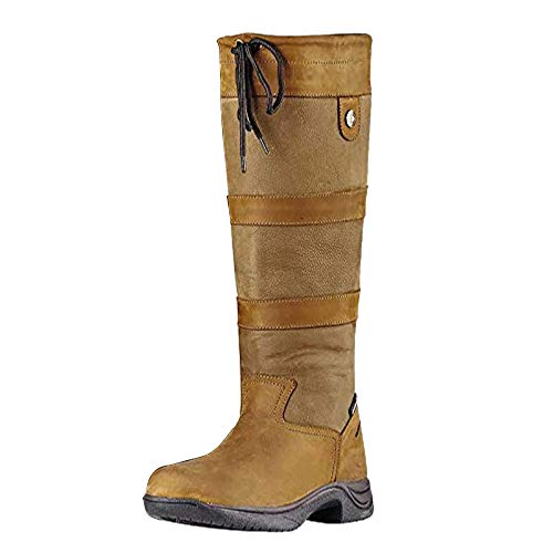 Dublin New Wasserdichte River Boots, Braun - dunkelbraun - Größe: 44 EU