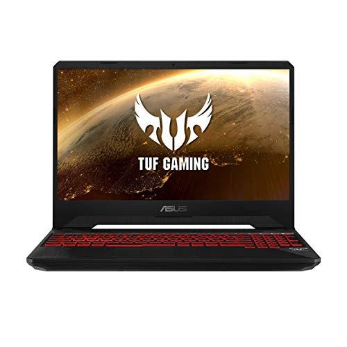 ASUS TUF FX505DY-BQ024T 15.6-inch FHD Gaming Laptop, AMD Ryzen 5-3550H with 8GB RAM, 512GB NVMe SSD, Radeon RX 560X 4GB Graphics, Black Plastic
