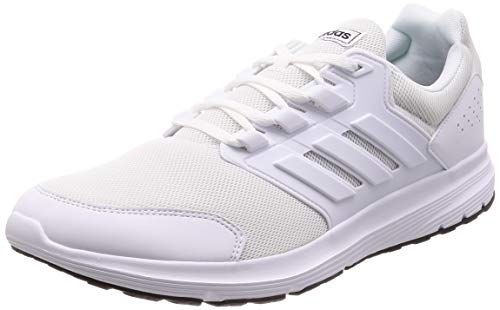 adidas Galaxy 4, Scarpe da Running Uomo, Bianco (Ftwr White/Ftwr White/Ftwr White Ftwr White/Ftwr White/Ftwr White), 42 2/3 EU