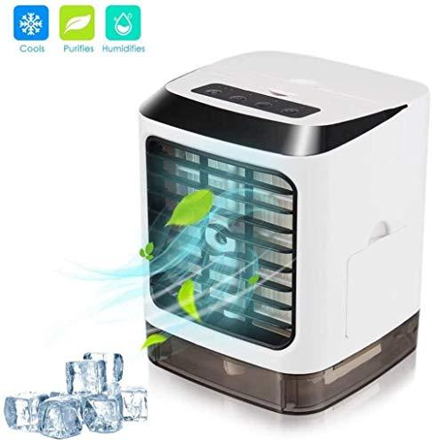 effoo Mini refrigerador de Aire Acondicionado portátil Personal 3 en 1 humidificador de Escritorio silencioso USB