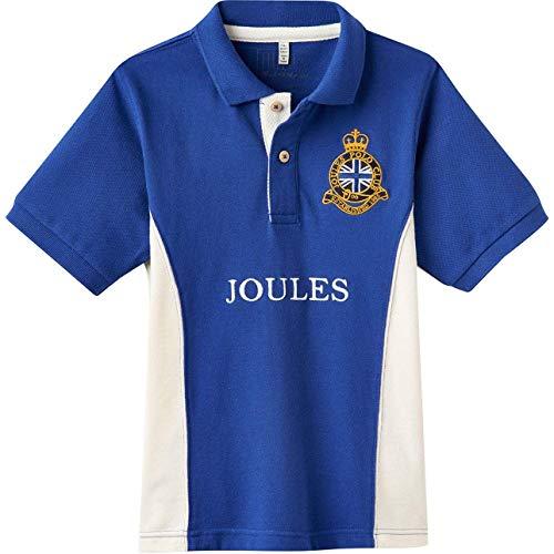 Tom Joule Poloshirt mit Stickerei blau weiß Gr. 6 Jahre