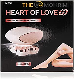 The Mohrim Heart of Love Removes Hair Instantly and Pain Free