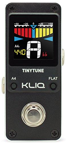 KLIQ TinyTune Tuner Pedal für Gitarre und Bass - (Netzteil benötigt)