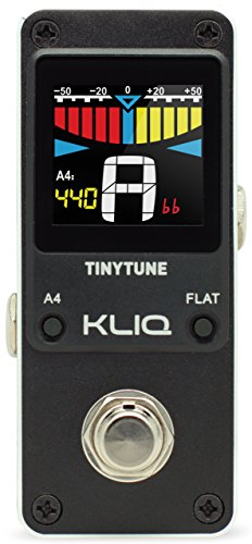 KLIQ TinyTune Tuner Pedal for Guitar and Bass