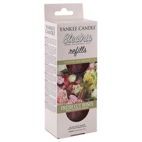 Yankee Candle Scentplug Ricarica per Diffusore Elettrico, Fresh Cut Roses