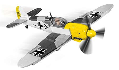 Bausteine Flugzeug Kampfjet Jet Messerschmitt BF 109 F-2 Konstruktionsspielzeug COBI 5715 + Mauspad von Juminox Gratis