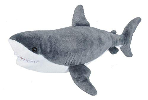 Wild Republic Great White Shark Plush Stuffed Animal Toy Gifts for Kids Cuddlekins 20 Inches
