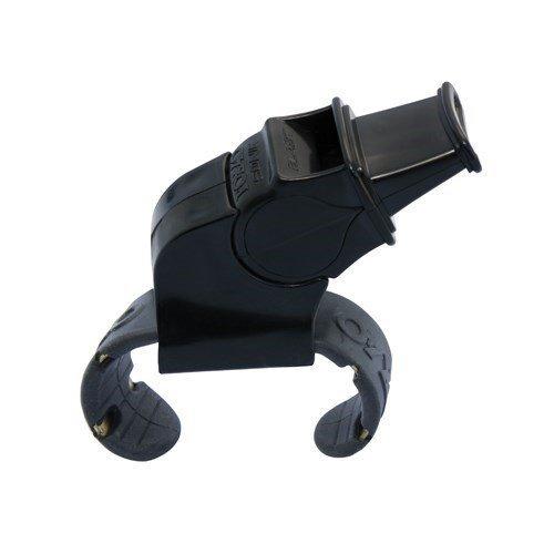 Fox 40 Sonik Blast Official Finger Grip Whistle (Black)