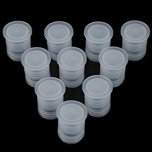 Elegante y compacto 10 unids / Tinto tope de la botella de la botella de la botella de cristal Guardar enchufe Barra de la barra de la barra de vino de plástico Tapa de la tapa de la tapa del tapón de