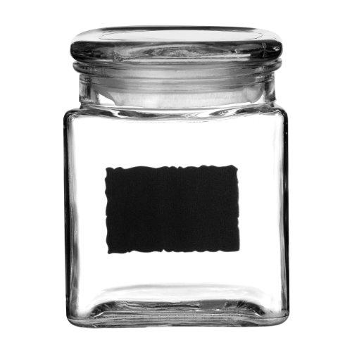 Premier Housewares 1209771 Förvaringslåda för svart tavla – 72 kg, glas