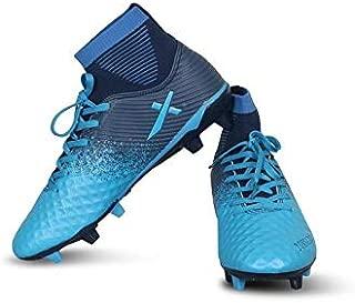 Vector X Tornado Football Shoes for Men's (Aster Blue-Navy)