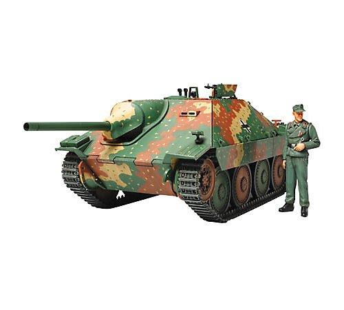 Tamiya 300035285 - Modellino carro Armato Tedesco della seconda Guerra Mondiale Hetzer, 38 t, Scala: 1:35