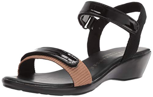 Athena Alexander Women's SAMBAA Wedge Sandal, tan, 9 M US