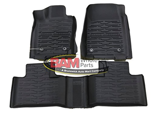 Genuine Chrysler Parts - Mat Kit-Floor - 1St & 2Nd Row (82215577AC)